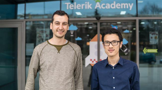 deyan and tung - telerik academy