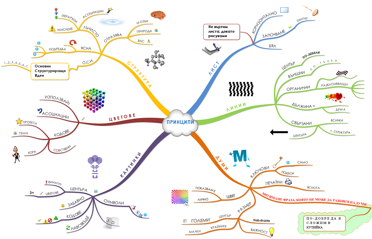 Mind-map-principles