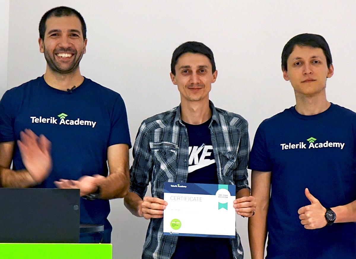 Telerik Academy Alumni - Pavel
