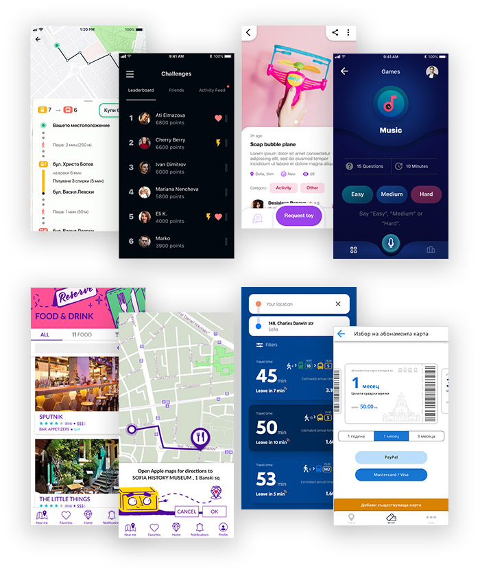 UX UI Projects