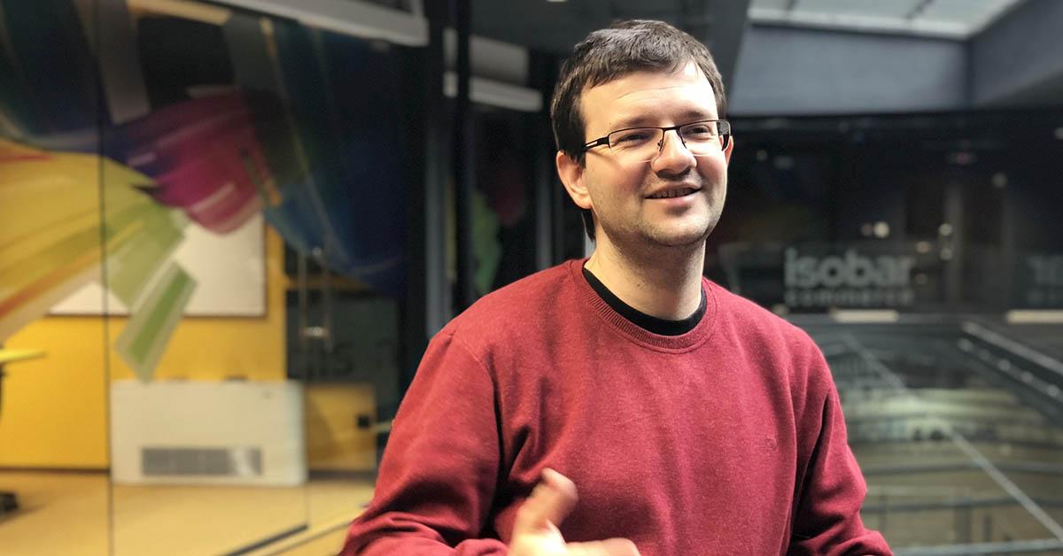photo of oggie astardzhiev, lead trainer telerik academy upskill salesforce commerce cloud