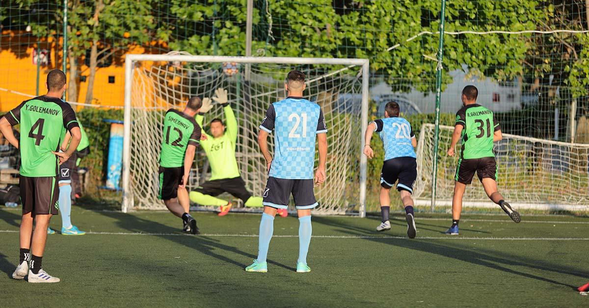 cleverpine team during a football tournament