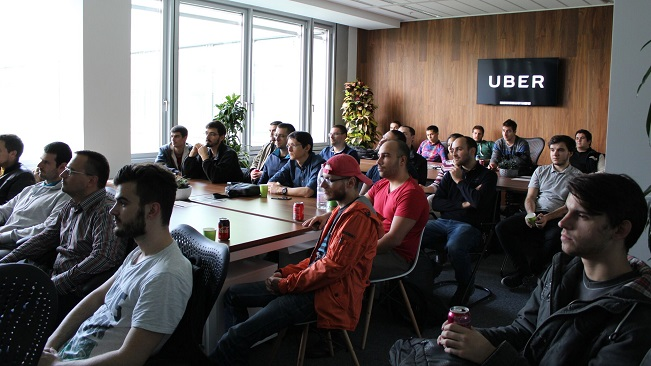 telerik academy alpha students at - uber bulgaria