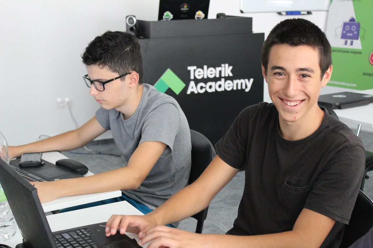 New School Year at Telerik Academy School