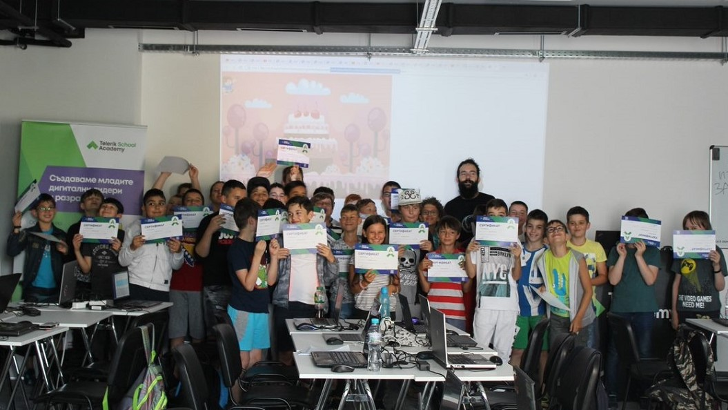 Summer Camps Telerik Academy School